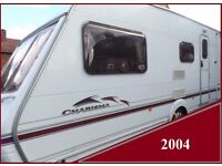 2004 Swift Charisma 4 Berth Luxury Touring Caravan Abbey Sterling Ace Group Price reduced.