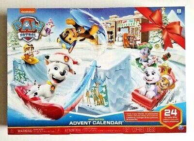 Nickelodeon Paw Patrol Christmas Holiday Advent Calendar