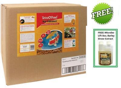 Tetra Koi Vibrance Color Enhancing Premium Fish Food 16.5l lbs 16458 FREE - Koi Vibrance Food