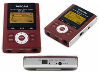 Tascam MP-GT1 Portable MP3 Player. Brand New (boxed)