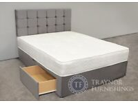 Special offer divan set + 2 FREE Drawers