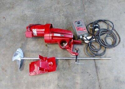 Clevelandeastern Rg-2 Drum Barrel Mixer Seco Bronco Ii Controller 13 Hp