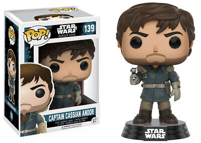 Funko POP! Star Wars Rogue One Captain Cassian Andor #139
