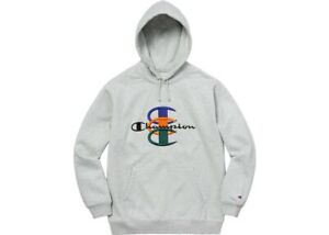 Supreme Triple C Stacked Champion Hoodie