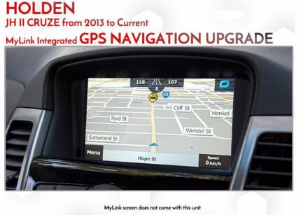 Holden Cruze JH II GPS Nav retrofit on MyLink with latest GPS Map