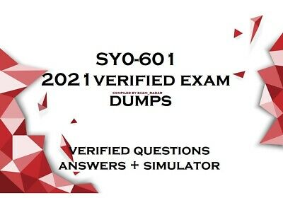 SY0-601 Security+  verified practice exam Questions Answers and simulator