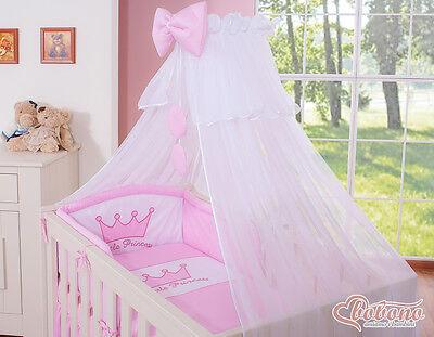 Bobono Baby Krone Bettset Little Prince Princess kleiner Prinz Prinzessin 6Tlg