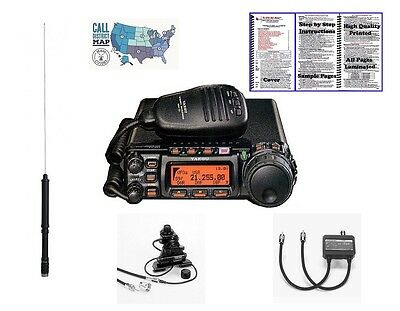 Yaesu FT-857D HF/VHF/UHF 100W Mobile Transceiver -- Mobile Installation Bundle!!, used for sale  Shipping to Canada