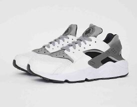 NIKE AIR HUARACHE WOLF GREY UK SIZE 8.5 BNIB