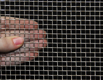 """Stainless Steel Woven Wire 304 #12 .023 Wire Cloth Screen 12/""""x36/"""""""
