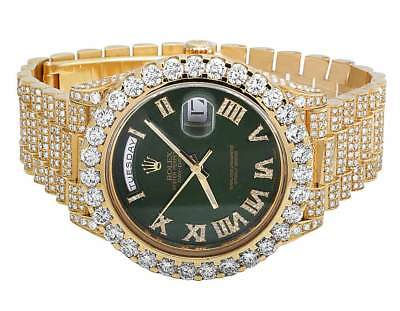 Mens Rolex Day-Date II 18k 40MM President 228238 Yellow Gold Diamond Watch 22.5