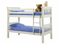 BARCELONA BUNK BED/BRAND NEW/CONVERT IN TO TWO SINGLE BEDS**SAME DAY DELIVERY**