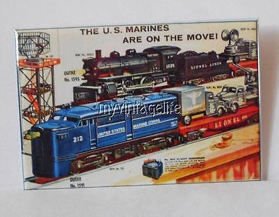 Vintage LIONEL TRAIN SET US MARINES on the move 2