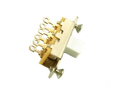 Switch On-On (2 pos.) Switchcraft  #11A1255X. for Fender JazzMaster Jaguar White segunda mano  Embacar hacia Spain