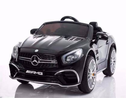 12v Licensed Mercedes AMG SL65 ride on car - Metallic Black
