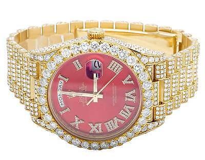 Rolex Day-Date II 40MM President 228238 18K Yellow Gold Diamond Watch 28.5 Ct