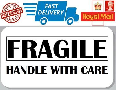 48 x Fragile Labels Handle With Care Labels Fragile Stickers Envelopes Photos