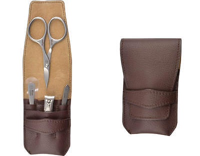 CAFE DO BRAZIL Leather Manicure Set (Solingen, Germany)