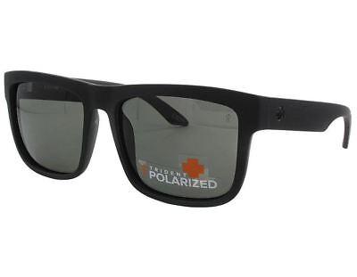 [673036374135] Spy Optics Discord Sunglasses - Matte Black w/ Gray Polarized