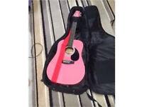 Guitar & capo & waterproof case