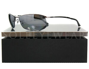 NEW RayBan RB 3183 004 82 Gunmetal Grey Gradient Polarized 62mm Sunglasses