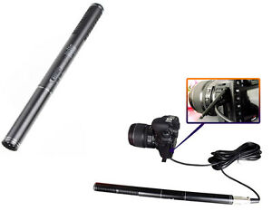 Shotgun-Interview-Condenser-Microphone-Mic-For-Camera-Nikon-Canon-Camcorder