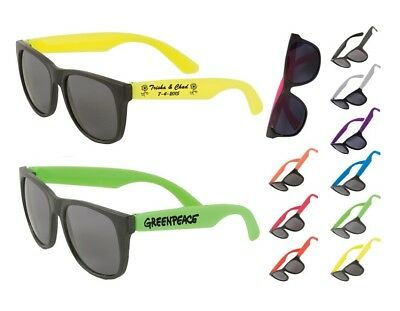 200 Custom Personalized Sunglasses, Wedding & Birthday Party Favor, Promotional