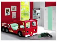 Fire Engine Bed