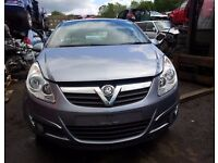 vauxhall corsa grey 2009 breaking for parts 2009 1.3 diesel