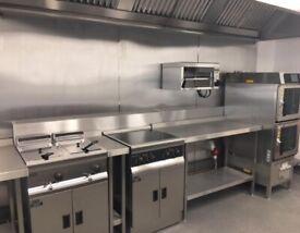 Commercial kitchen / dark kitchen for hire