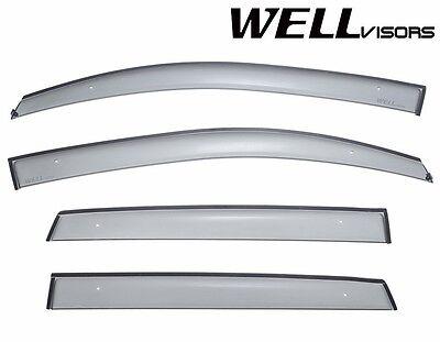 WellVisors For 07-12 Dodge Caliber PREMIUM Series Side Window Deflectors Visors