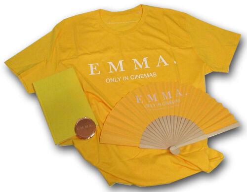 Emma 2020 movie, Anya Taylor-Joy promotional items Journal Fan Mirror T-shirt