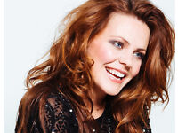 2 x Rachel Tucker tickets London the crazy croqs brasserie sold out