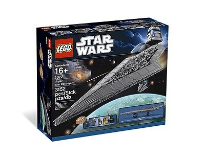 NEW & SEALED LEGO STAR WARS UCS Super Star Destroyer set #10221