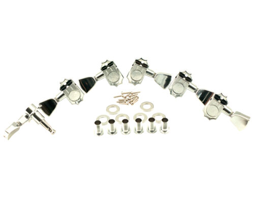 Kluson Revolution Tuners - 3x3 Metal keystone button - Chrome KED-3801C