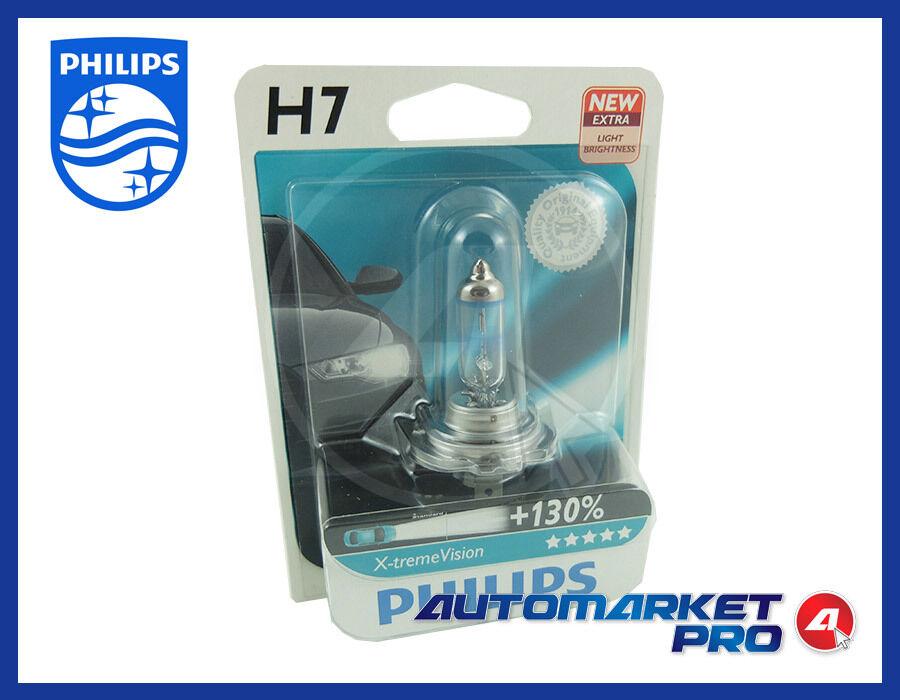 1 LAMPADINA H7 PHILIPS 12V VOLT 12972XV+B1 55W LAMPADA FARO ANTERIORE FANALE
