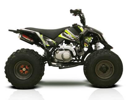 Thumpstar ATV 125cc | Quad | Off Road | 4-Wheelers