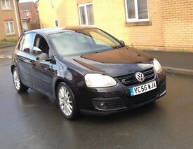 2007 56 VOLKSWAGEN GOLF 2.0 GT TDI 6 SPEED MANUAL