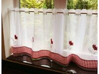 Ready made cafe curtain
