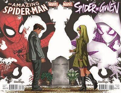ING SPIDERMAN 17 HASTINGS CONNECTING VARIANT SET  (Amazing Spiderman 3)
