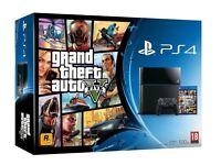 PlayStation 4 500GB Black with box