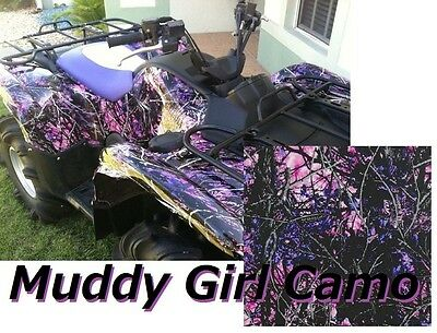 Dipping Hydrographics Film Water Transfer Printing Muddy Girl Camo 19x80 Aqua