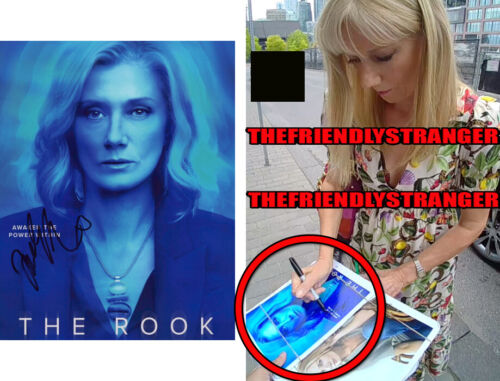 "JOELY RICHARDSON signed Autographed ""THE ROOK"" 8X10 PHOTO A - EXACT PROOF - COA"