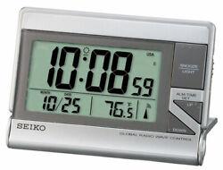 Seiko Digital Radio Alarm QHR024S Alarm, Reception, Multifunction, Therm