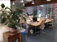 Desk space in friendly, creative studio
