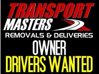 PROFESSIONAL OWNER VAN DRIVERS WANTED TO COVER REMOVAL & DELIVERY JOBS WITHIN LONDON