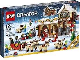 Lego Santa's Workshop 10245 Brand New and Sealed RETIRED
