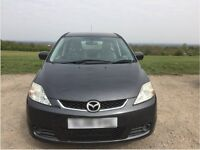 Mazda 5 TS MPV Petrol 85000 miles 1798cc grey 7 seats excellent condition inside out.