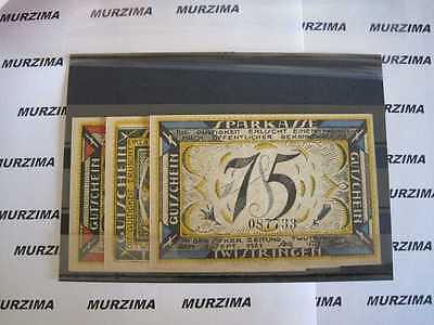 Twistringen 3 Scheine Notgeld  25,  50, 75  pfennig *