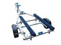 BUNKED DINGHY TRAILER NEW AND READY TO GO TAKES RIBS UP TO 3.5M OR DINGHIES UP TO 4.3M